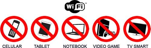 Nunca faça o teste utilizando a conexão Wi-Fi